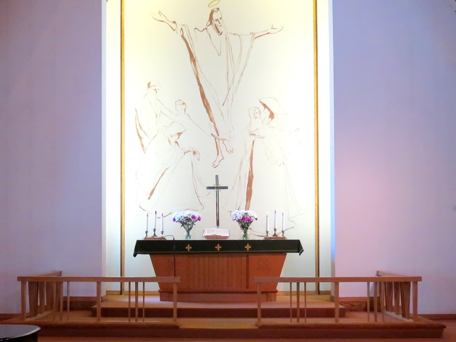 St. Johns Latvian Lutheran Church Altar